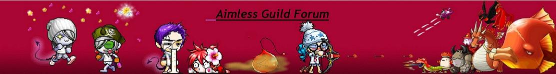 Aimless Guild Forum