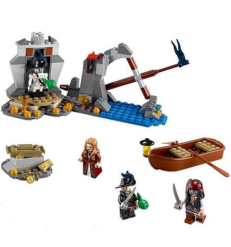 Lego pirate of the caribbean - Ile pirate lego ...