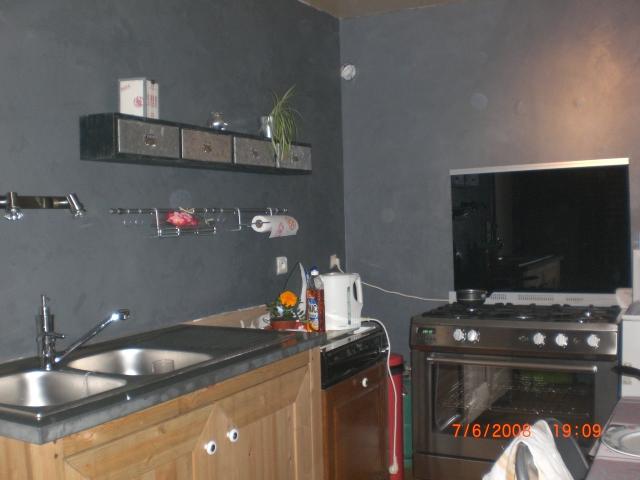 Amazing Beton Cire Mur Cuisine #3: Tiens Voici Mon Mur Quand