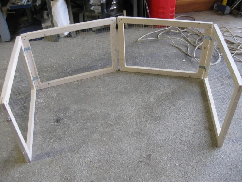realisation fabriquer un parc pliant pour cdi. Black Bedroom Furniture Sets. Home Design Ideas
