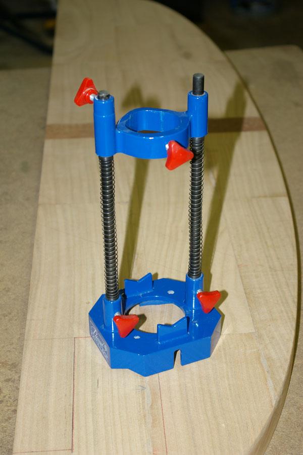 Fabrication support de perceuse accessoire pour le bois - Support perceuse a colonne ...