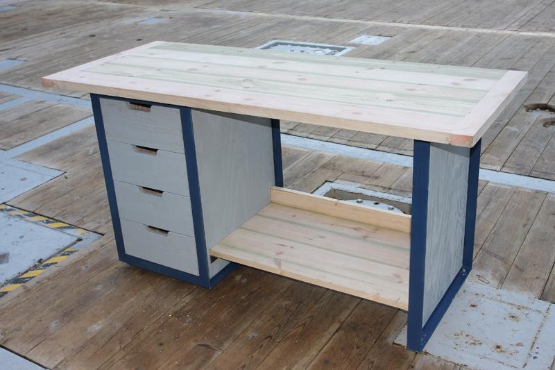 Etabli acier et bois - Comment fabriquer un etabli en bois ...