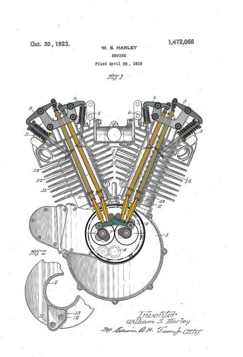 harley-davidson  u2013 peashooter - 21 35ci  350 cc