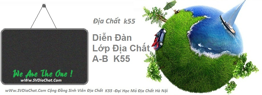 Diễn đàn lớp địa chất B K55