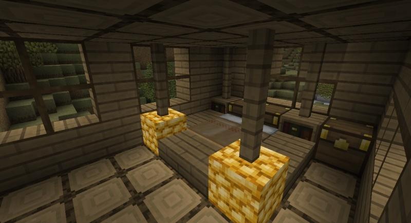 Maison Moderne Cubique Minecraft