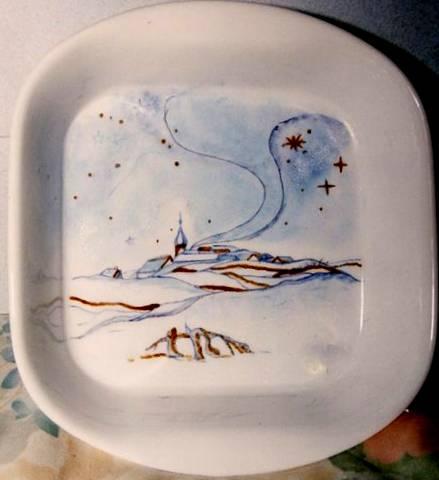 Peintures sur porcelaine diverses for Colorie de peinture