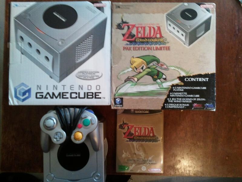 jeux game cube a vendre pack zelda four swords. Black Bedroom Furniture Sets. Home Design Ideas