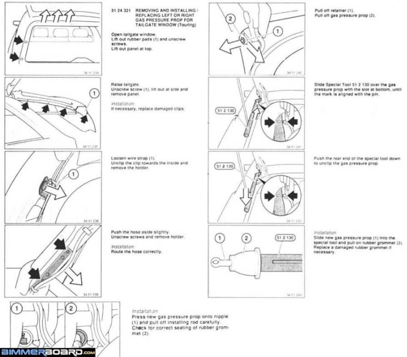 bmw e61 tailgate wiring diagram. Black Bedroom Furniture Sets. Home Design Ideas