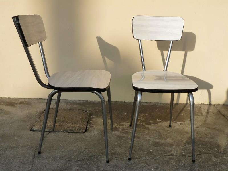 Chaise cr - Customiser chaise formica ...