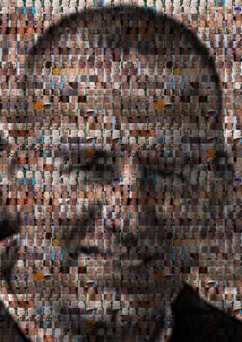 R Alisation D 39 Un Portrait Partir De Plusieurs Photos