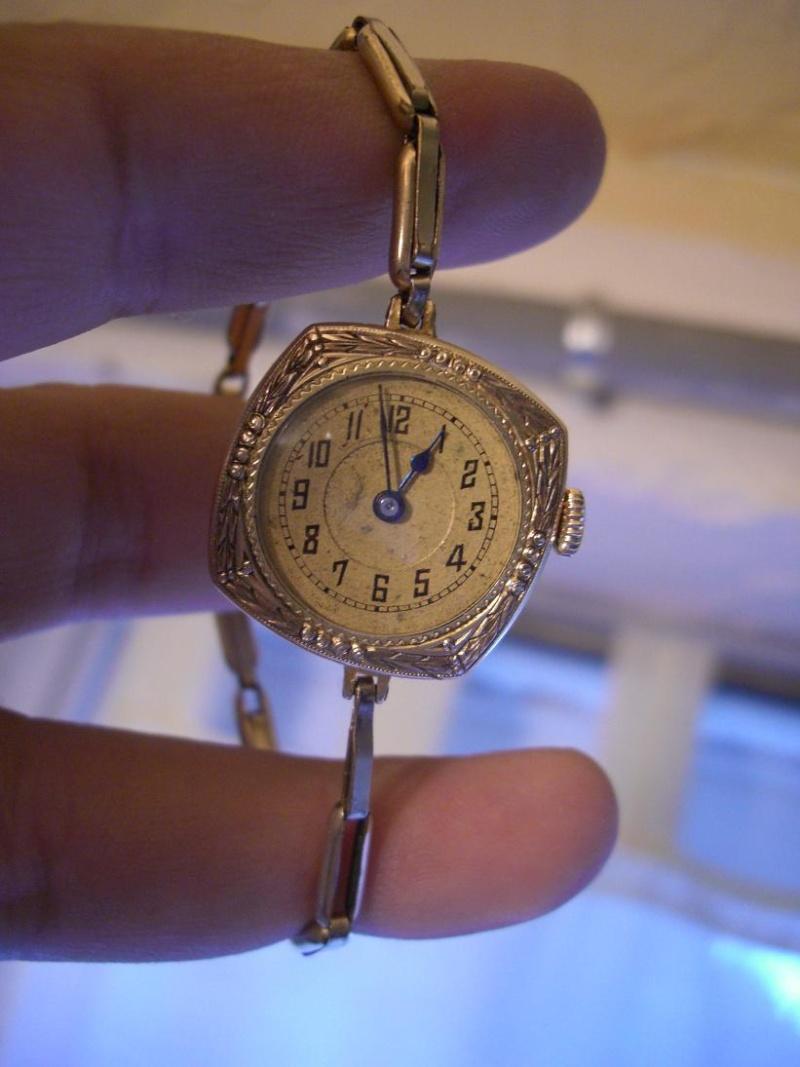 Préférence Montre femme ancienne plaqué or. LR49