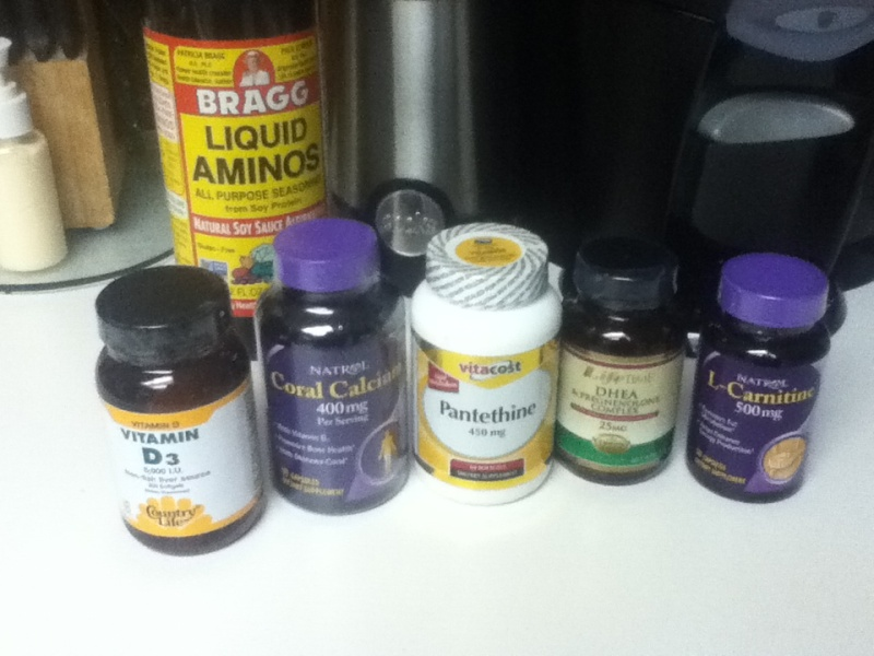 Melissa's HCG and Leptin Reset Journey: My Supplement List