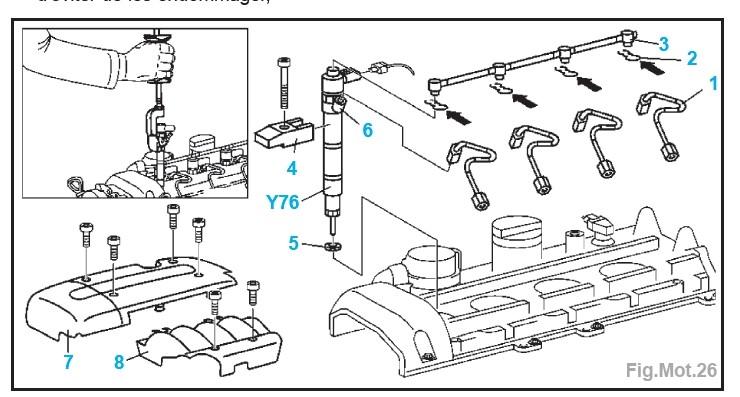 tuto r paration fuite des injecteurs page 4. Black Bedroom Furniture Sets. Home Design Ideas