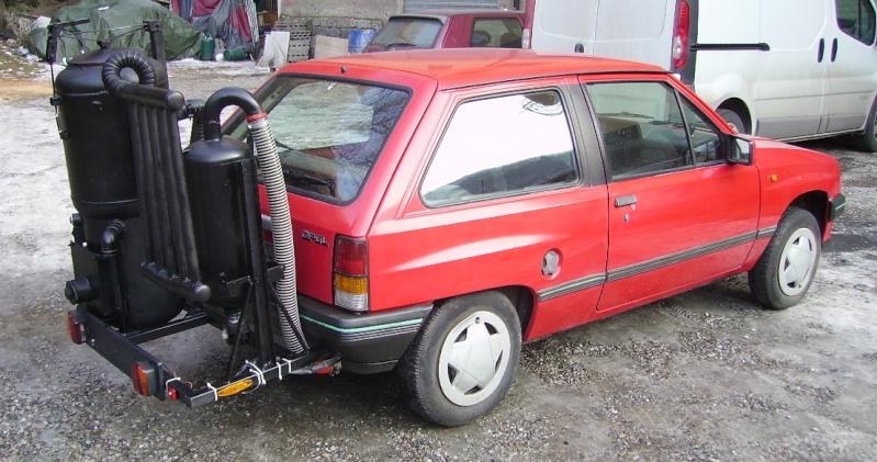 Il y a de la r flexion pour cette italien et sa voiture gazo for Construire sa voiture