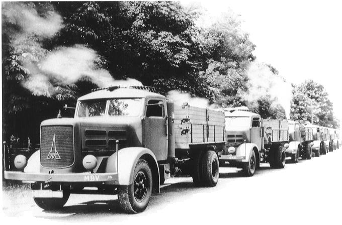 Camion Mercedes Seconde Guerre Mondial