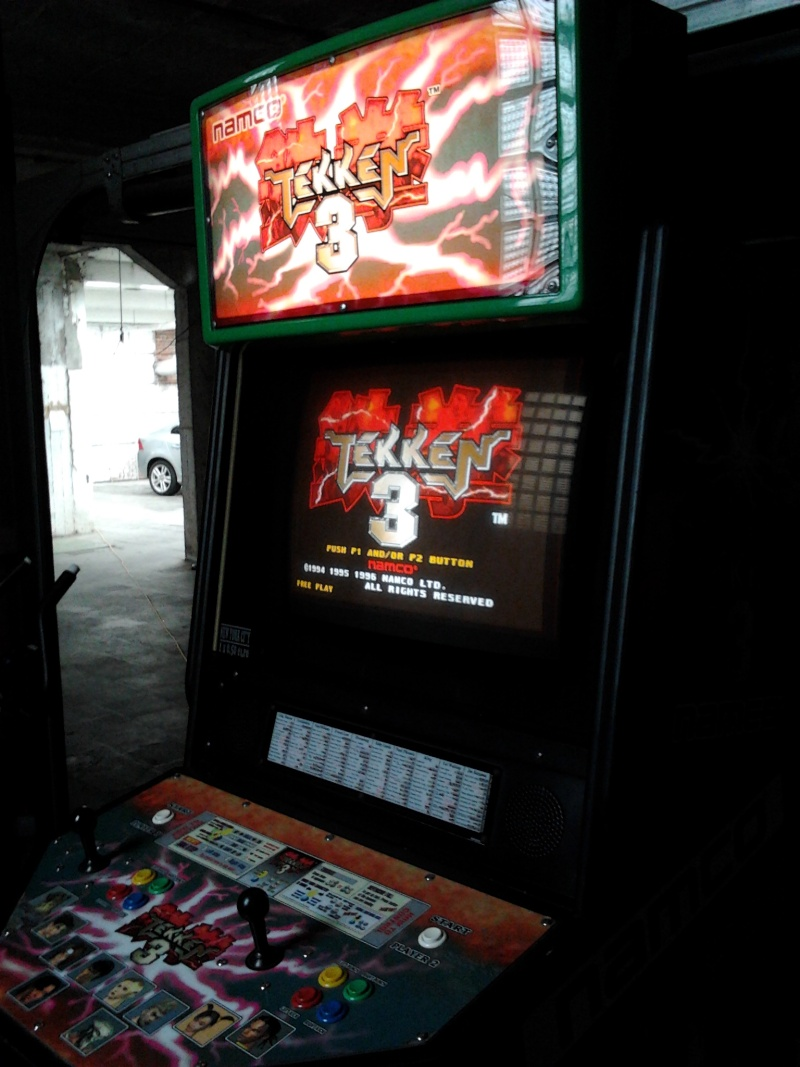 borne arcade tekken 3