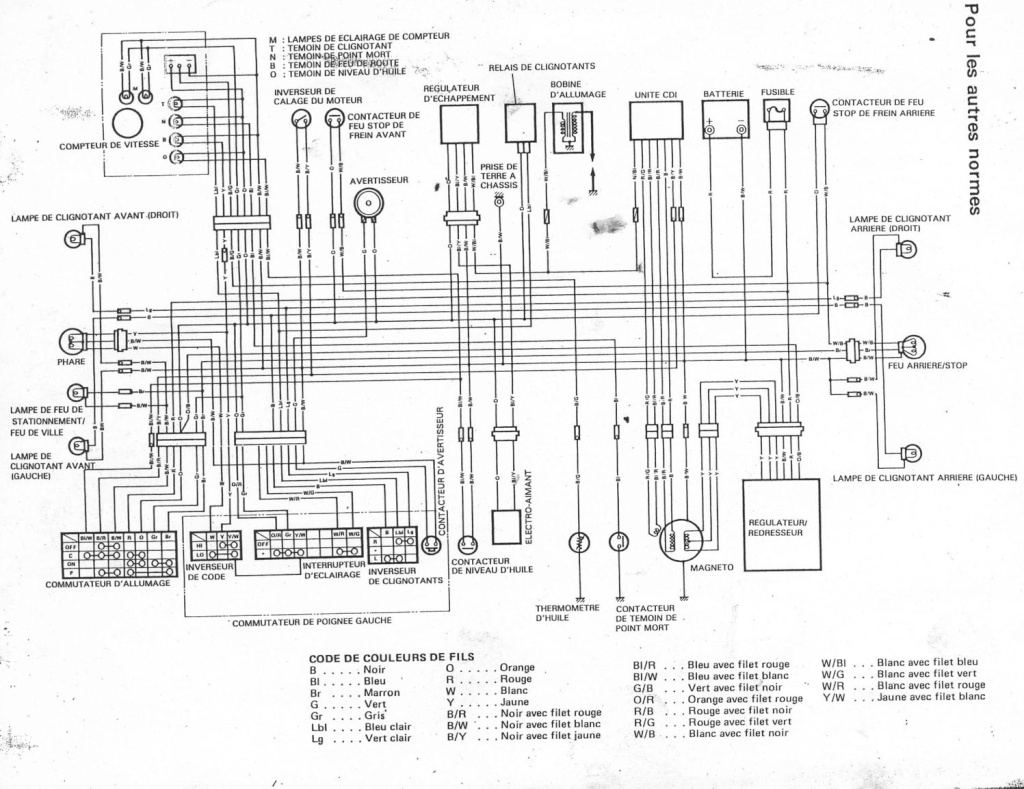 honda xr 125 l wiring diagram honda xr600 wiring diagram