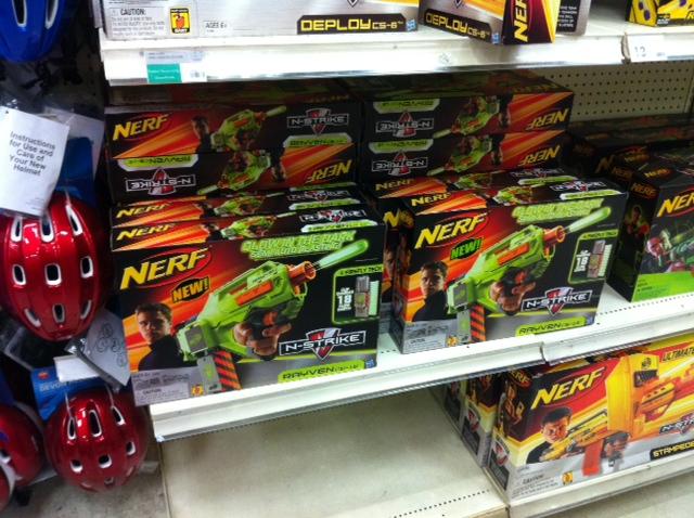 Kmart Toy Guns: Stock Photo Nerf Gun Elite Elite Sd Stryfea Nerf Blaster Is  A