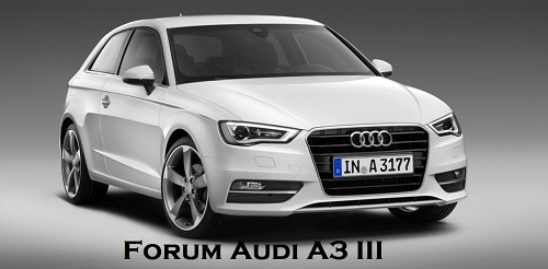 Forum Audi A3 III 2012 Type 8V