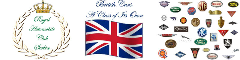 British Cars Club Serbia - Rover - MG - Jaguar - Land Rover