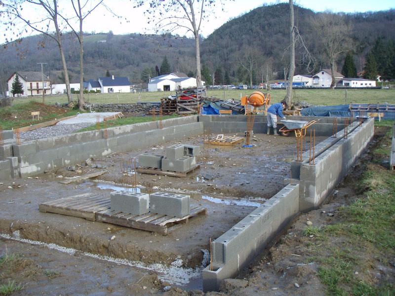 Question ferraillage fondations - Ferraillage fondation muret ...