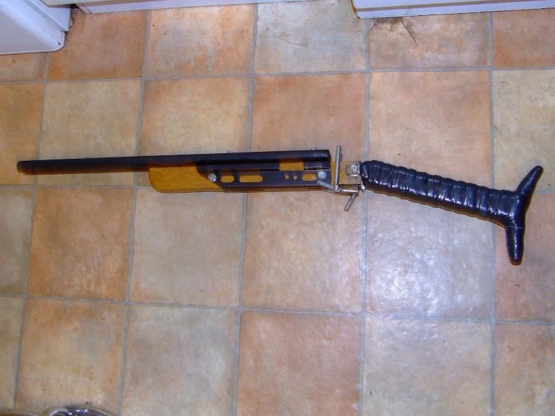 Slingshot rifle