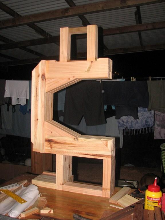 fabrication d'une Scieà ruban en bois