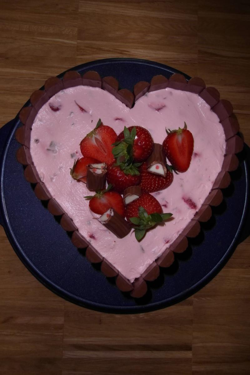 Ofen Liebe Joghurette Herz Kuchen