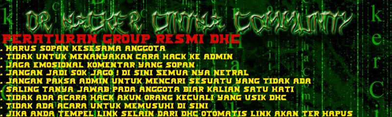 Dr Hacker Cintha Community